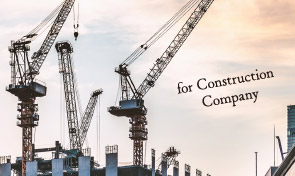 for Construction  Company